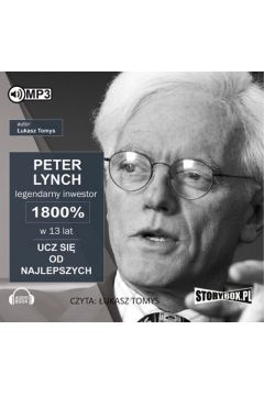 Peter Lynch legendarny inwestor 1800%... Audiobook
