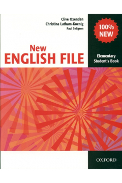 English File NEW Elementary SB OXFORD