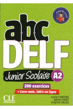 ABC DELF A2 junior scolaire książka + DVD + zawartość online