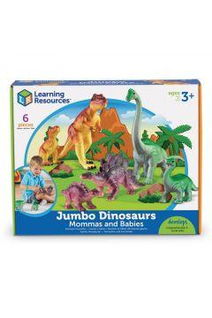 Duże Figurki, Mamy i Dzieci, Dinozaury