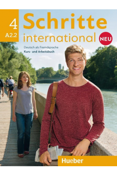 Schritte international Neu 4 KB+AB+CD PL HUEBER