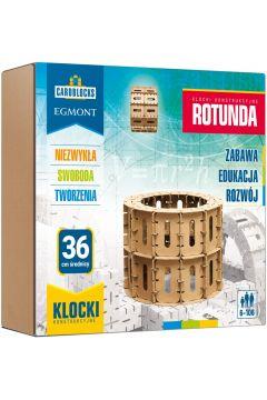 Cardblocks. Kartonowe klocki konstrukcyjne. Rotunda