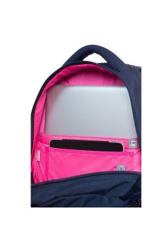 Plecak Dart II Dots Pink / Navy