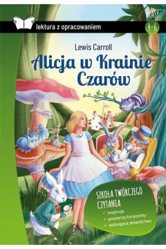 Alicja w Krainie Czarów z opracowaniem