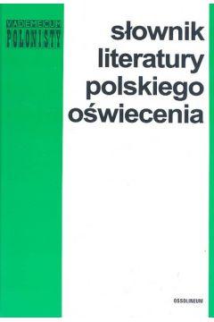 Słownik literatury polskiegio oświecenia