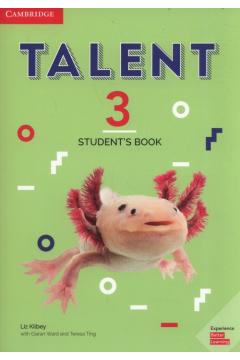 Talent 3. Poziom B2. Student`s Book. Podręcznik do języka angielskiego