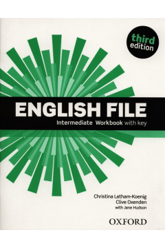 English File 3E Intermediate WB With Key OXFORD