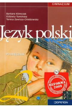 Język polski 2 Podręcznik Gimnazjum