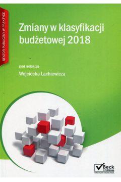 Zmiany w klasyfikacji budżetowej 2018