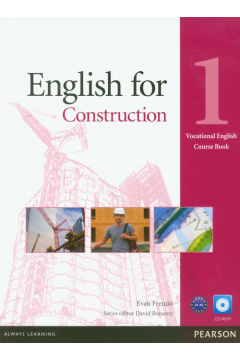 English for Construction 1 SB +CD PEARSON