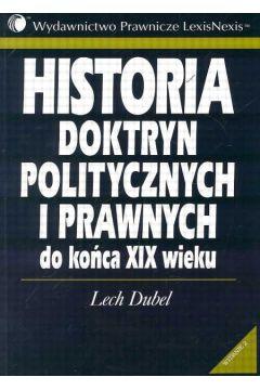 lech dubel historia doktryn politycznych i prawnych pdf