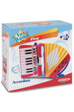 Akordeon 17 klawiszy 6 przycisków basowych