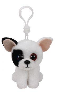 Beanie Boos Marcel - Czarno-biały Pies brelok