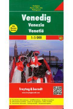 Wenecja plan miasta 1:5 000