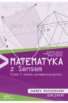 Matematyka LO 1 podr ZR suplement SENS