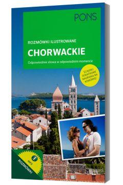 Rozmówki ilustrowane audio - chorwackie PONS