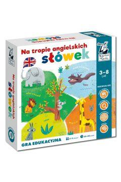 Gra edukacyjna. Na tropie angielskich słówek