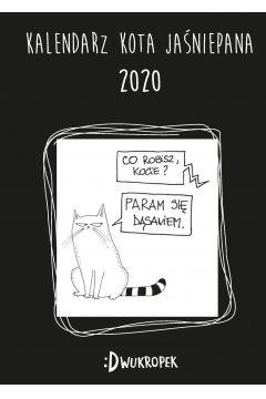Kalendarz 2020 Książkowy Kota Jaśniepana
