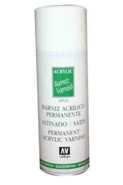 VALLEJO Lakier Spray Półmat 400 ml.
