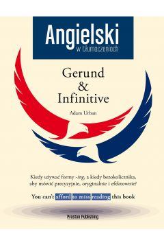 Angielski w tłumaczeniach Gerund & Infinitive + CD