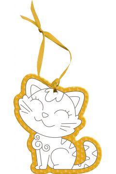 Graffy Hang zawieszka do pokolorowania Kot