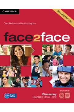 face2face Elementary Student's Book + Online workbook + DVD
