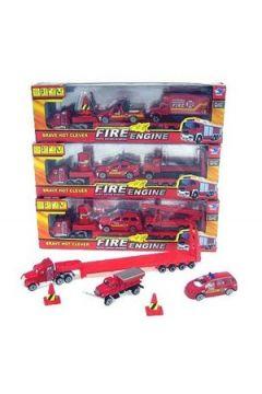 Truck+2 pojazdy straży w pudełku JP3101 Cena za sztukę