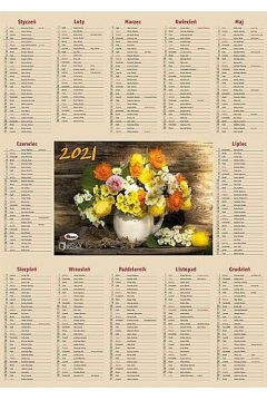 Kalendarz 2021 listkowy kl awm