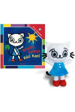 Zestaw: Wielka księga Kici Koci + Maskotka Kicia Kocia