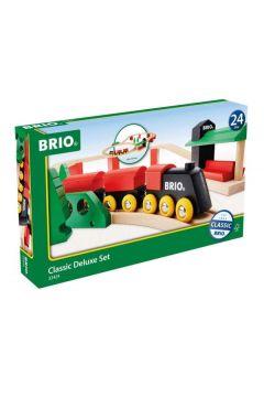 BRIO 33424 Podstawowa kolejka zestaw Deluxe