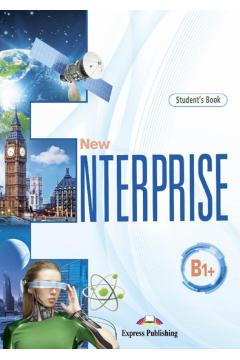 New Enterprise. B1+. Student's Book. Edycja międzynarodowa + DigiBook