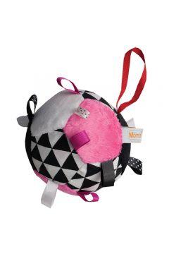 Piłka dla malucha różowa