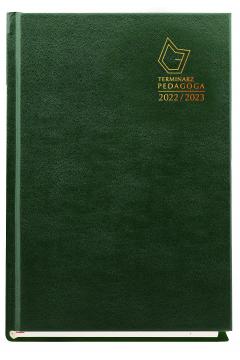 Terminarz pedagoga 2020/2021 zielony