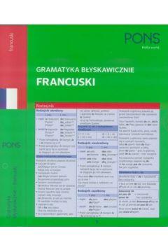 Gramatyka błyskawicznie. Francuski PONS