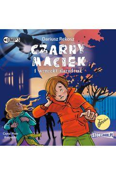 CD MP3 Czarny Maciek i wenecki starodruk. Tom 1