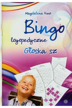 Bingo logopedyczne głoska sz
