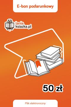 TanioKsiążkowy e-Bon Podarunkowy 50 zł - e-voucher prezentowy o wartości 50 zł