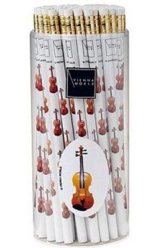 Ołówek - skrzypce