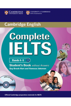 Complete IELTS Bands 4-5 Student's Book without answers + CD