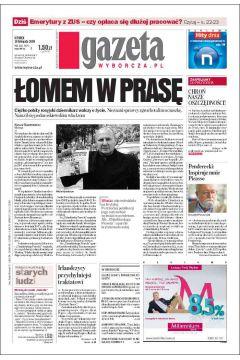 Gazeta Wyborcza - Białystok 269/2008