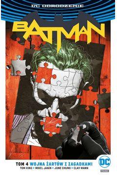 Batman. Tom 4. Wojna Żartów z Zagadkami
