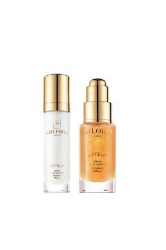 Lifteor Beauty Ritual Global Anti-Aging rozświetlający krem do twarzy 12ml + rozświetlające serum do twarzy 10ml