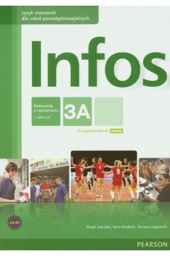 Infos 3A podręcznik z ćwiczeniami+CD PEARSON