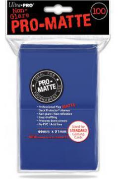 ULTRA-PRO Deck Protector - Pro-Matte Non-Glare Blue (Niebieskie) 100 szt.