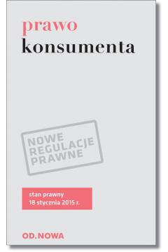 Prawo konsumenta 18.01.2015