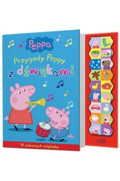 Świnka Peppa. Przygody Peppy z dźwiękami