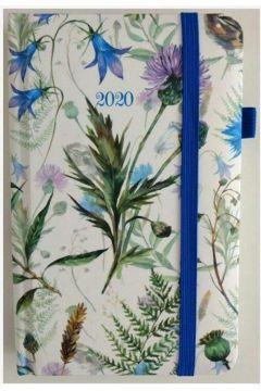 Kalendarz 2020 tygodniowy kieszonkowy Kwiaty