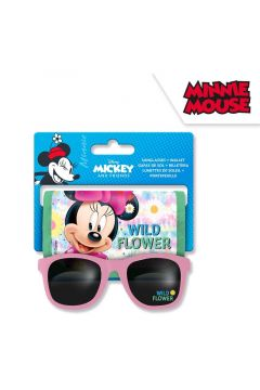 Okulary przeciwsłoneczne z portfelikiem Minnie WD21567