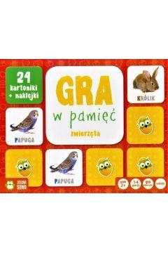Gra w Pamięć: Zwierzęta w Domu