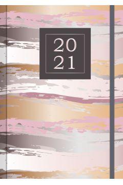 Kalendarz 2021 z gumką Madame A5 WTV
